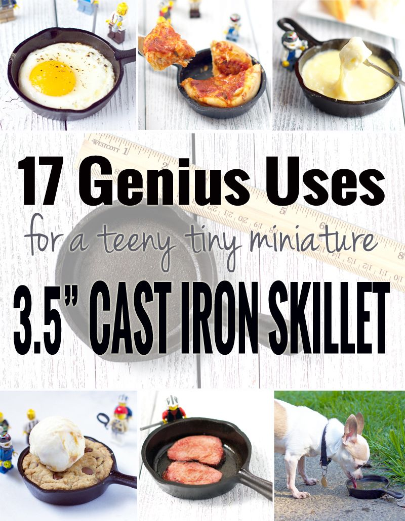 Smalle Kast Wit.17 Genius Uses For A Teeny Tiny Miniature Cast Iron Skillet
