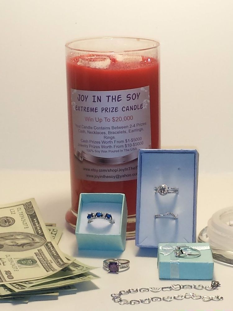 Joy In The Soy Extreme Prize Candle Handmade Projects