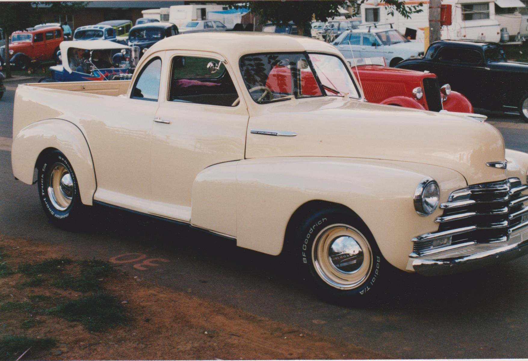 1947 Chev Stylemaster Coupe Ute Vintage Pickup Trucks Panel Truck Chevrolet Trucks