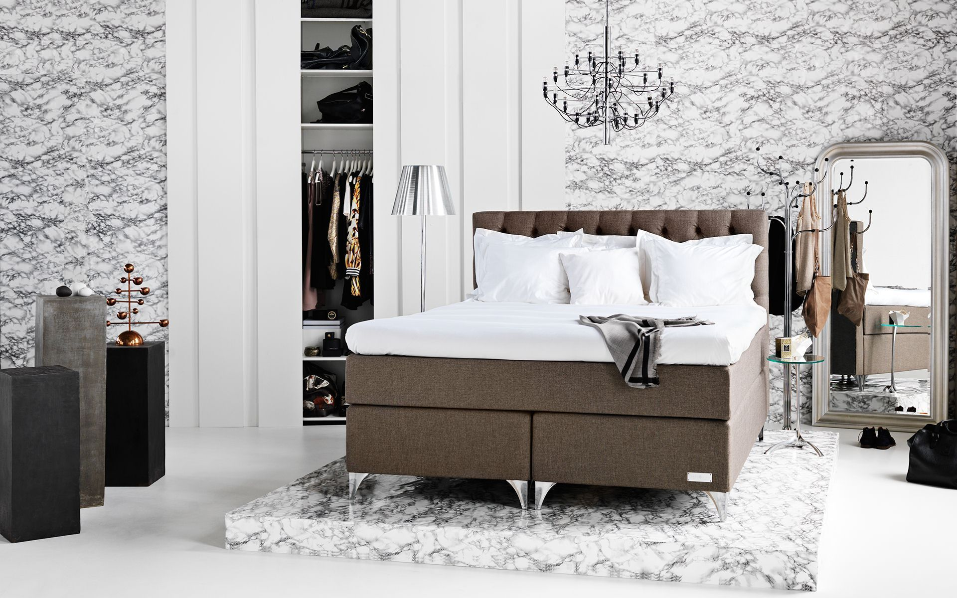 Skaftö continental bed from Carpe Diem Beds of Sweden Bedrooms we like Pinterest Tack