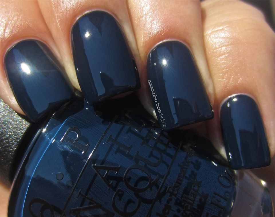 OPI: Incognito In Sausalito....because I definitely need another blue nail polish ;)