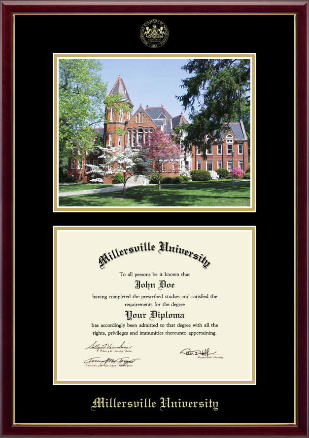 Millersville University of Pennsylvania Diploma Frame | Pennsylvania ...