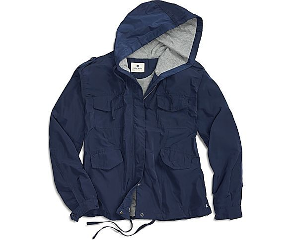 029db470 Sperry Top-Sider Women's Jersey-Lined Shell Jacket | My style ...
