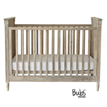 Incy Interiors Driftwood Cot   Baxter From The Baby Closet Online Store