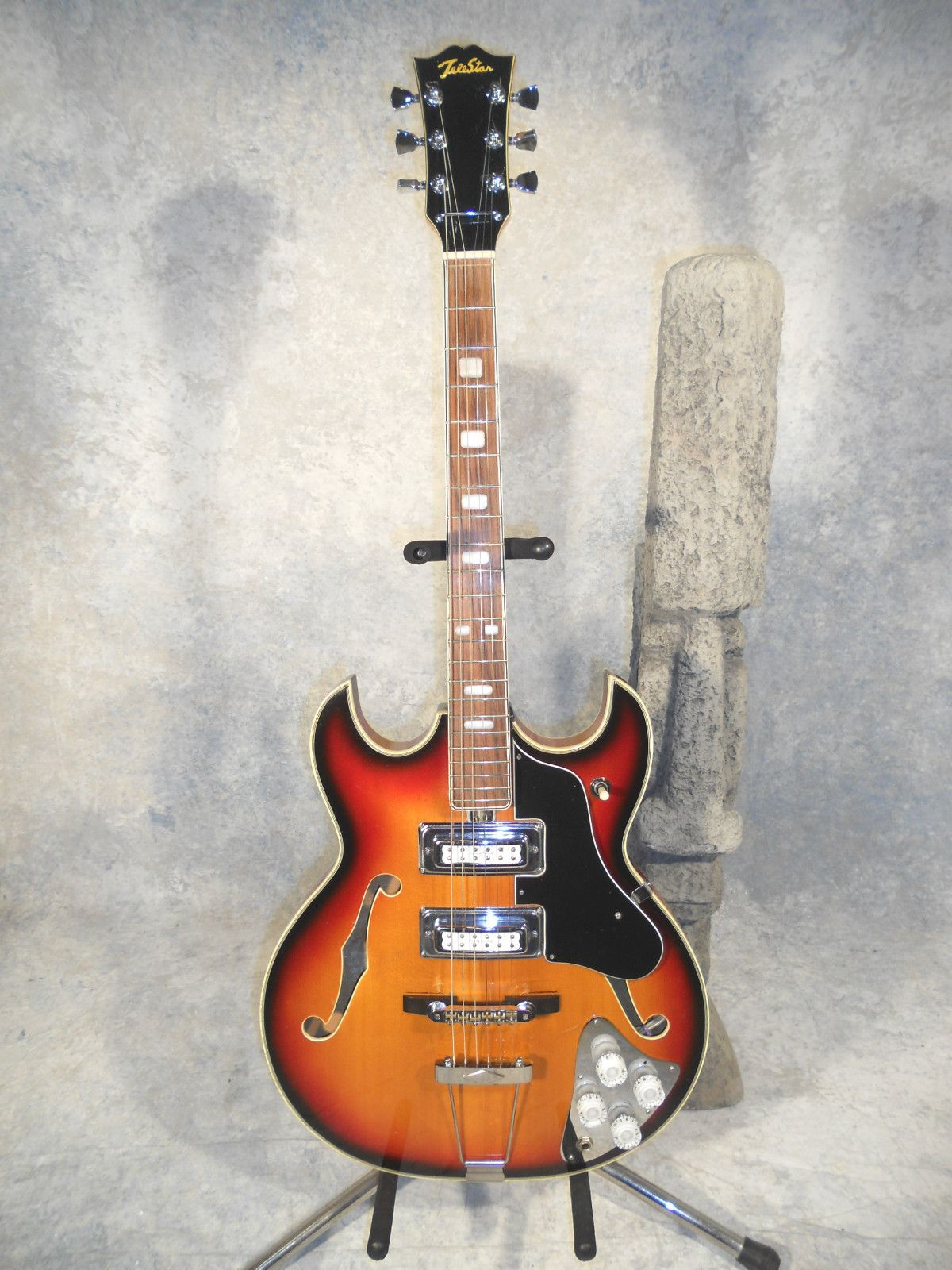 telestar teisco hollowbody 335 style vintage 60s cool ese telestar teisco hollowbody 335 style vintage 60s