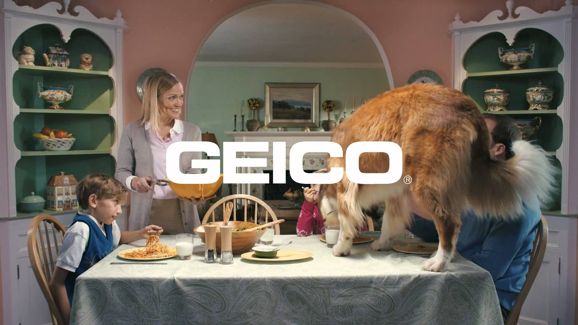 This is the weird Geico commercial that everyone is