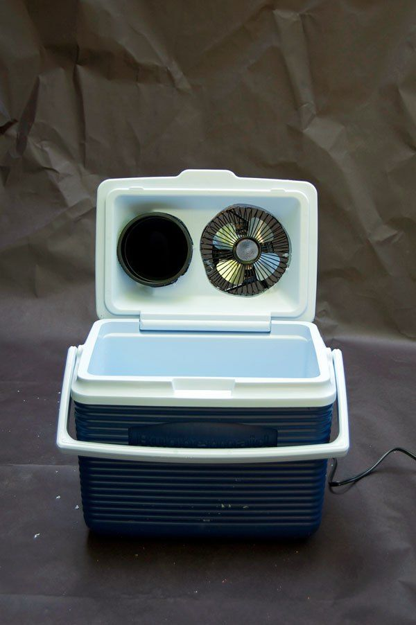 A Tiny Air Conditioner For A Tiny Space Tent Air Conditioner