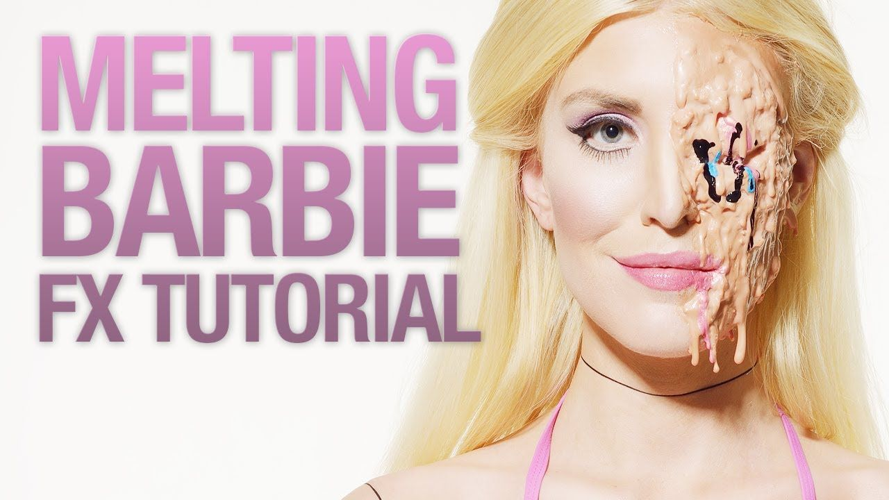 Interesting way of making melted skineds more blood zombie learn how to create a cool melted plastic barbie doll with fancy joints and a seriously creepy face baditri Image collections