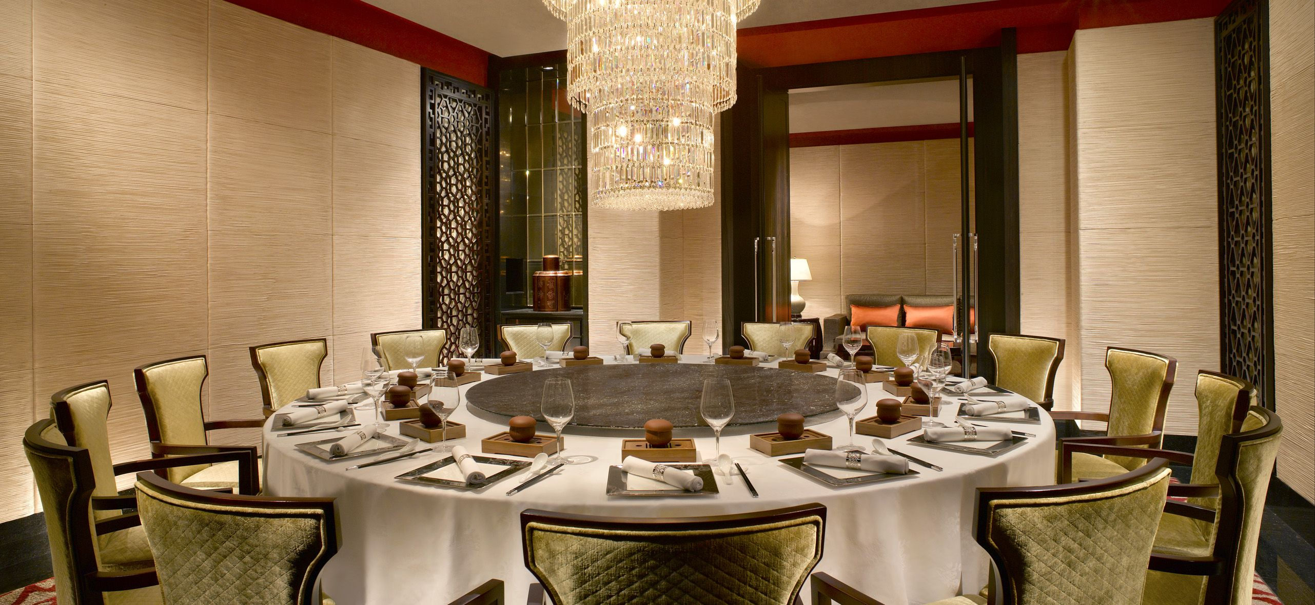 Private Dining Room Pu Er Shangri La Hotel Private Dining Room Space Hotel