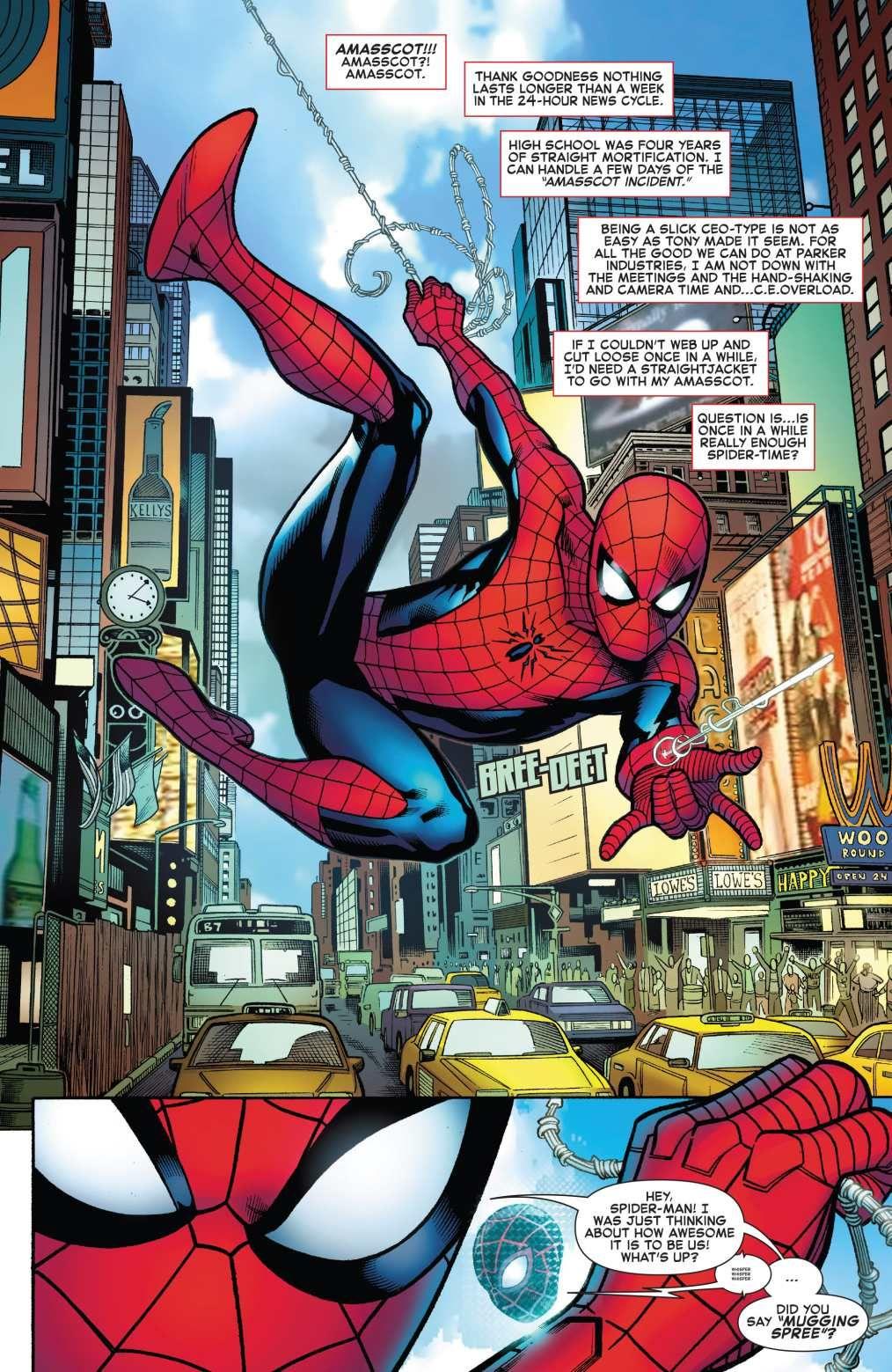 Artist Adailson Comic Read Comics Online Free Spider Man Deadpool Chapter 002 Page 7 Spiderman Spiderman Comic Amazing Spiderman