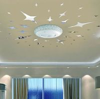 Best Three Dimensional Crystal Decorative Mirror Ceiling Roof 400 x 300
