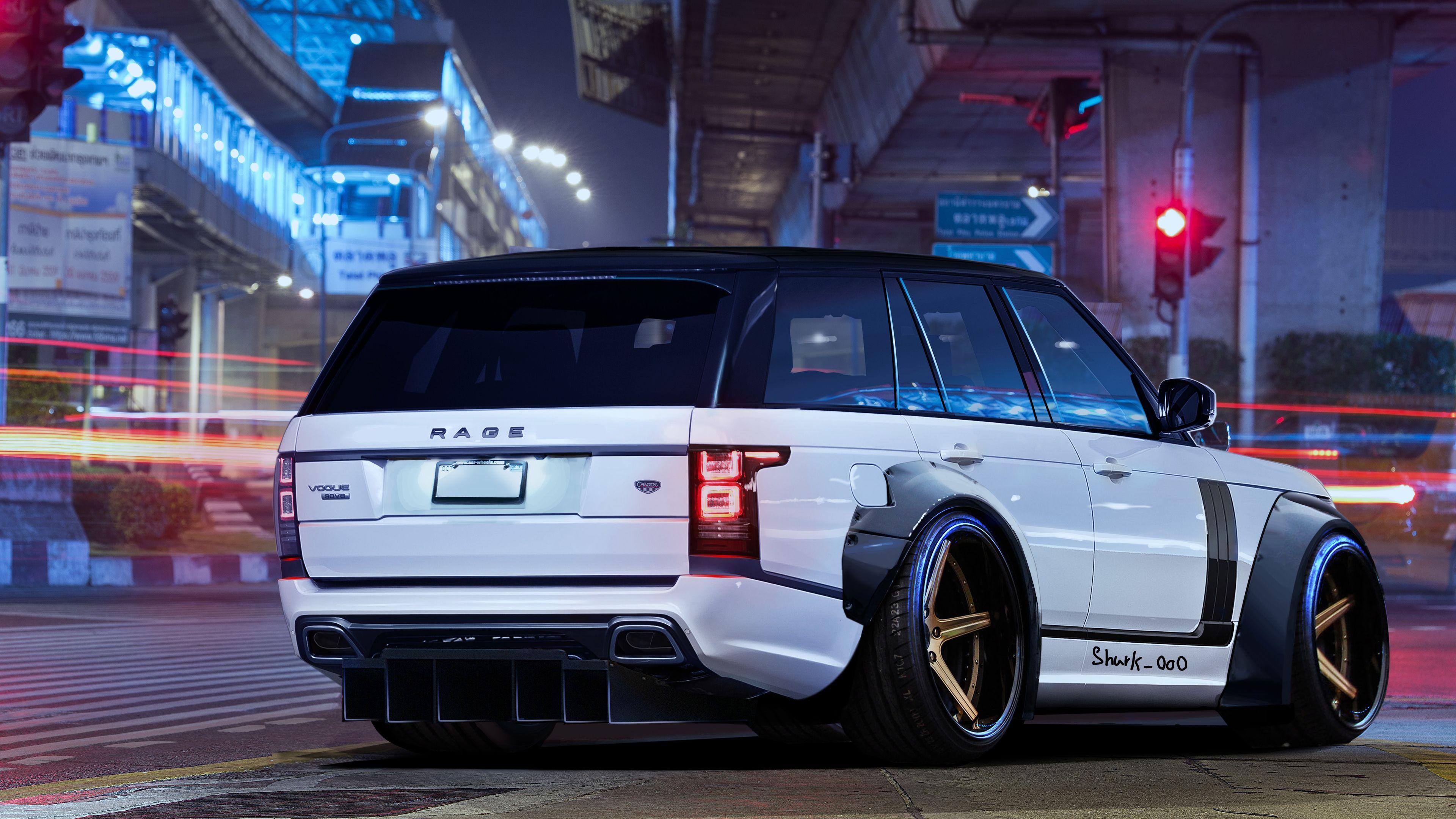 Range Rover Art White Wallpapers Range Rover Wallpapers Hd