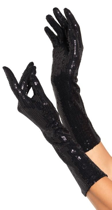 Long Black gloves, can never have too many!