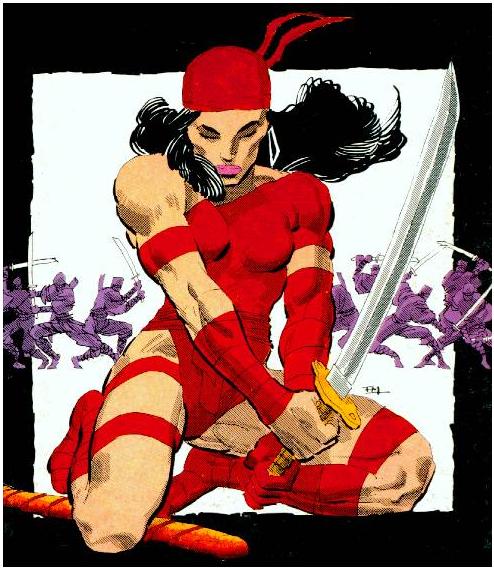 """""""Elektra Vive"""": reedição mostra o melhor de Frank Miller e Lynn Varley   Críticas   Revista Ambrosia"""