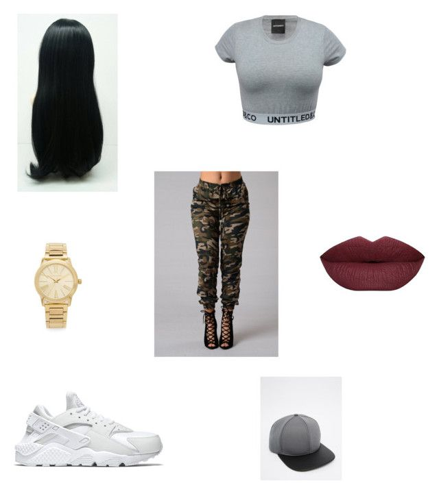"""Untitled #90"" by ar03 on Polyvore featuring NIKE, Michael Kors and ASOS"