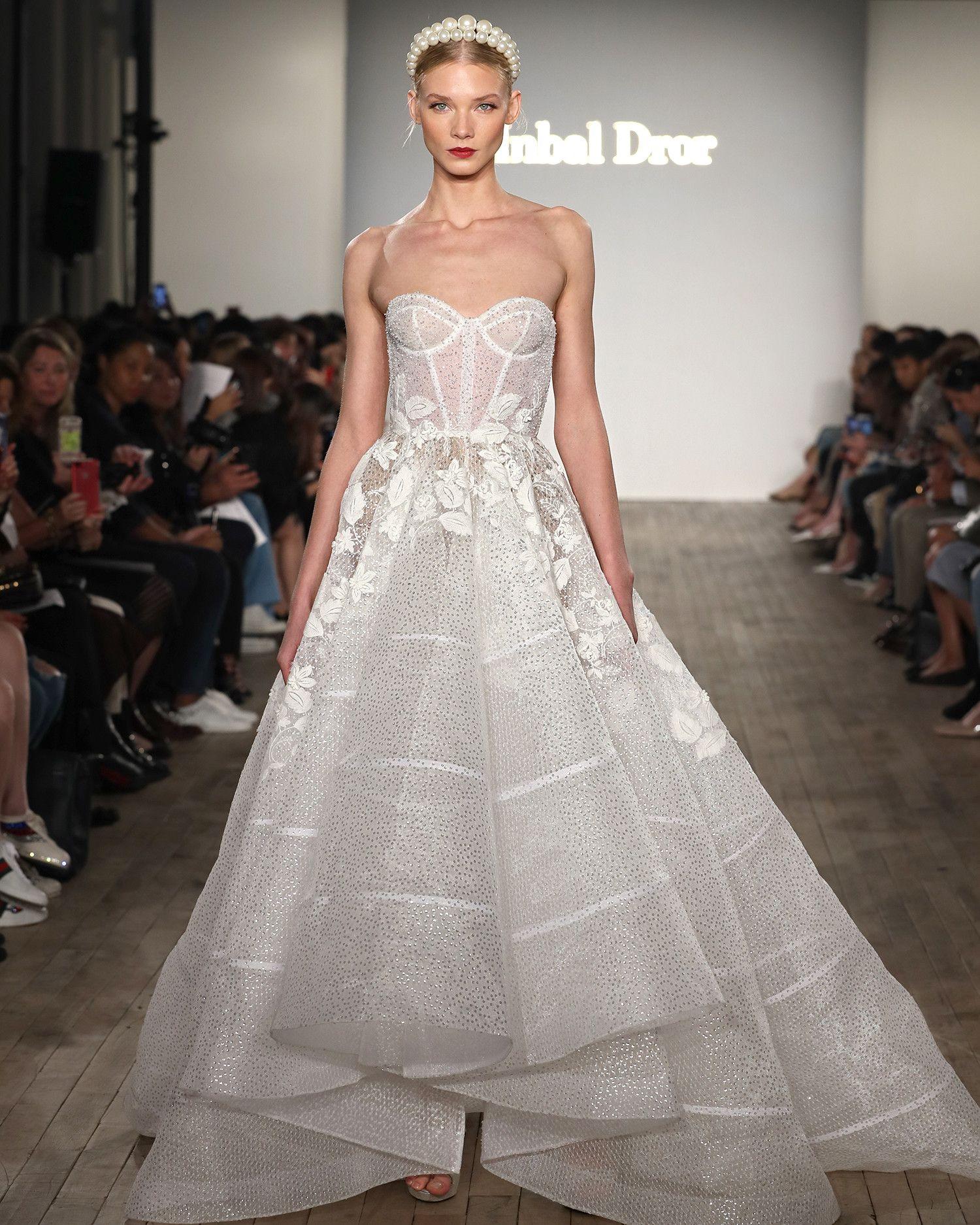 Inbal Dror Fall 2019 Wedding Dress Collection Bridal Fashion Week