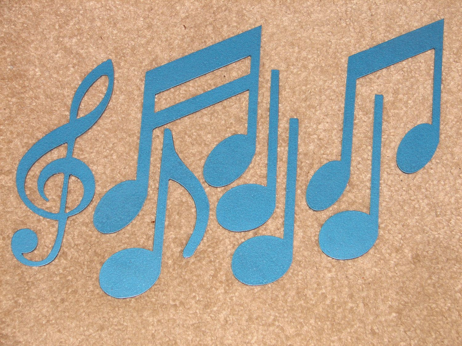 Metal Wall Art Decor MUSIC NOTES Musical Note Patio. $24.99, via Etsy.