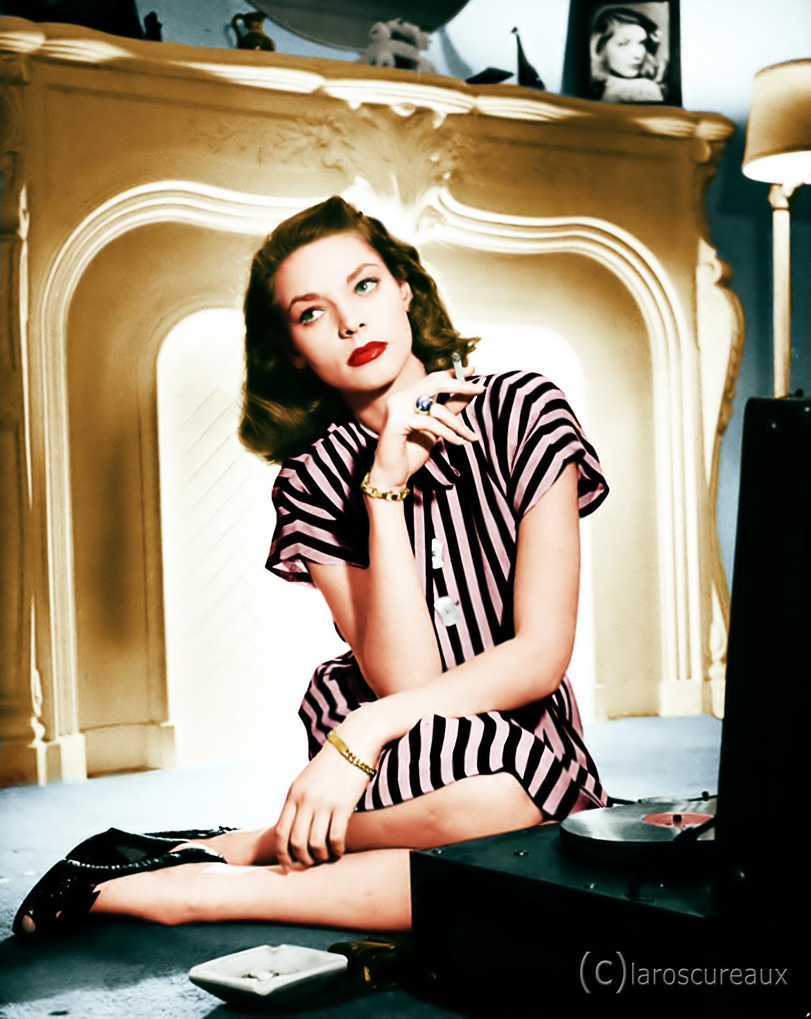 Lauren Bacall, 1940s