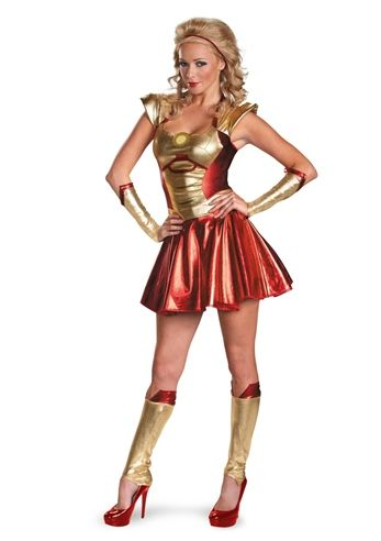 c2f8ba948 Iron Man 3 Pepper Potts Iron Woman Costume | - Halloween ...