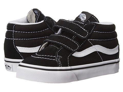 Vans T Sk8-Hi V-Black/Wht   Vans kids