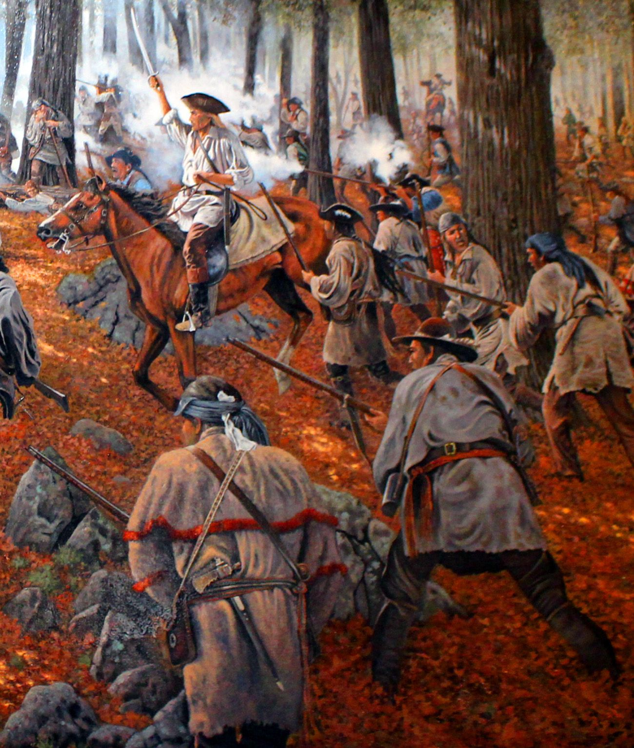 The Battle Of Kings Mountain Was An Military Engagement Between Patriot And Lo Battle Of Kings Mountain American Revolutionary War American War Of Independence