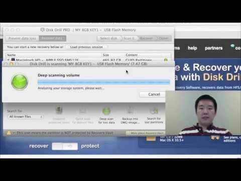 http://www.youtube.com/watch?v=ARF8czKIsOc   Recover deleted apple files or data on Mac OS X