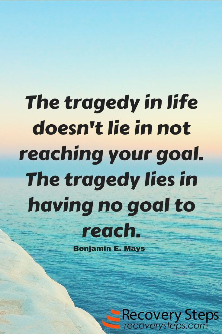 What Is Life Without Pursuit Of Goals? We Have To Have Purpose In Our Lives  Right?