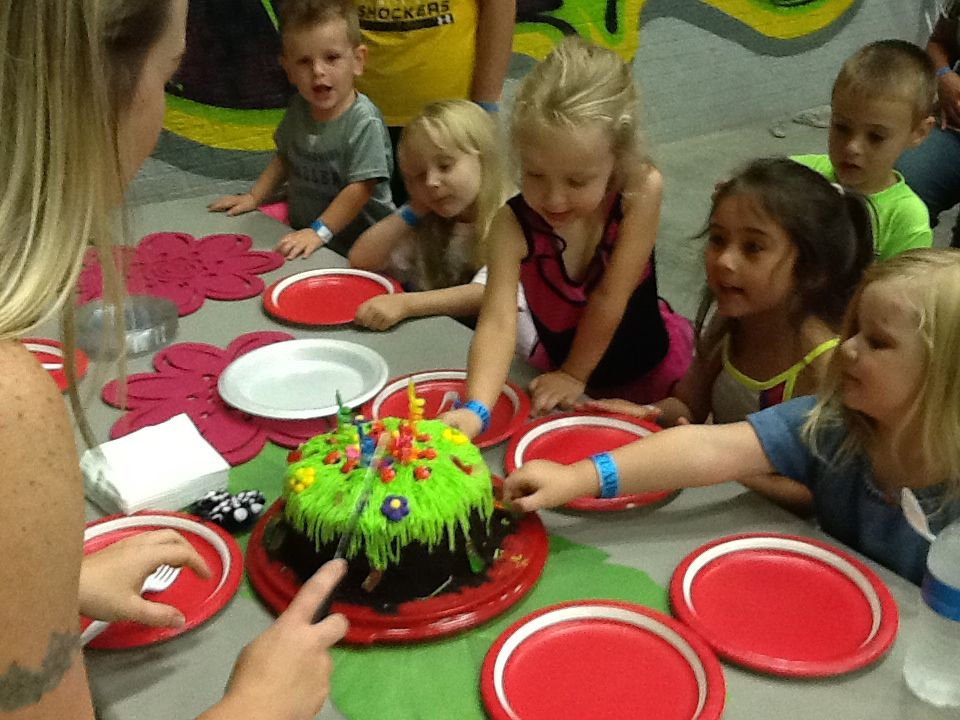 There's no such thing as too much birthday cake! Show yours off at Get Air Wichita today!