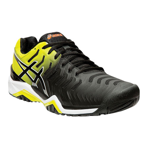Asics Gel Resolution 7 Tennis Shoe Clay Court Tennis Shoes Asics Black Shoes