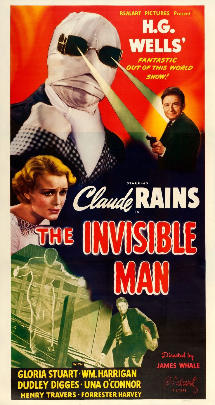 The Invisible Man (1931) gets a 1951 re-release ...