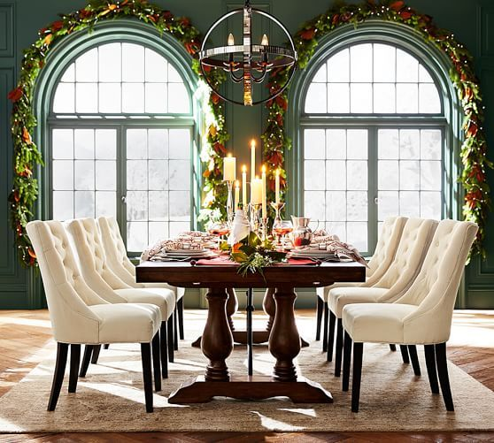 Lorraine Extending Dining Table  Pottery Barn  Inspired Living Amazing Pottery Barn Dining Room Tables Inspiration Design