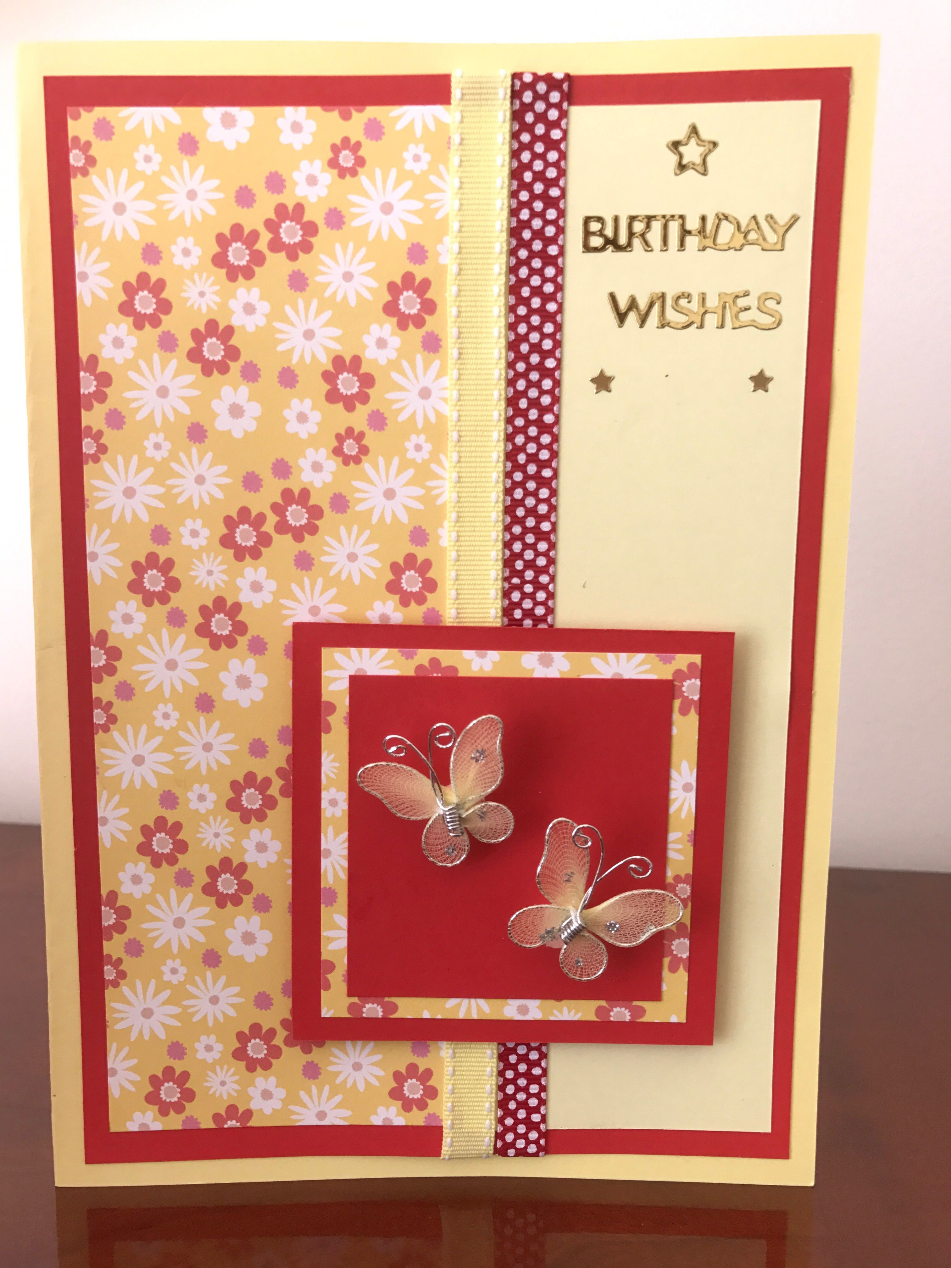 Birthday Card For My Sister In Law Cards Birthday Pinterest