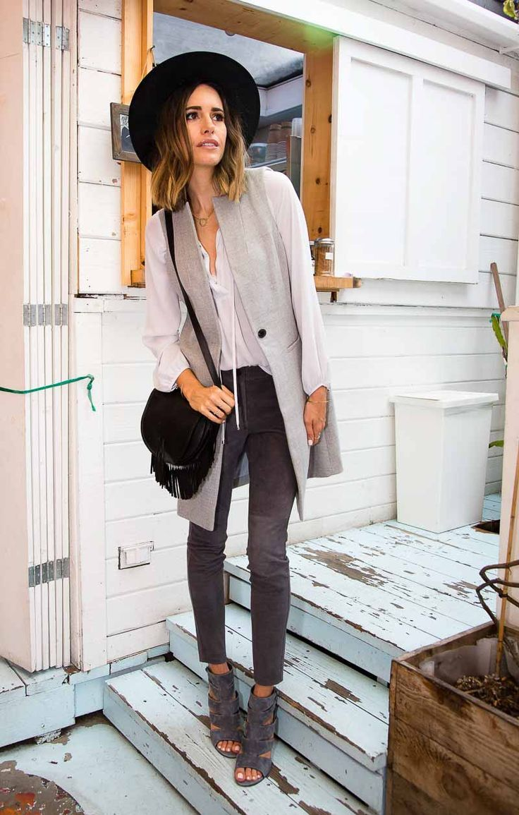 Smart Style: Investment Pieces | Pinterest | Long vests, White house ...