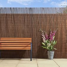 Willow 4m X 2m Garden Fence Screening 目隠し 木 木