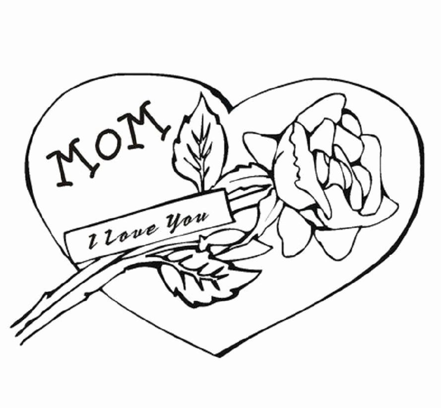 I Love Mom Coloring Page Fresh Mom Dad Pics Cliparts Mom Drawing Mom Coloring Pages I Love You Drawings