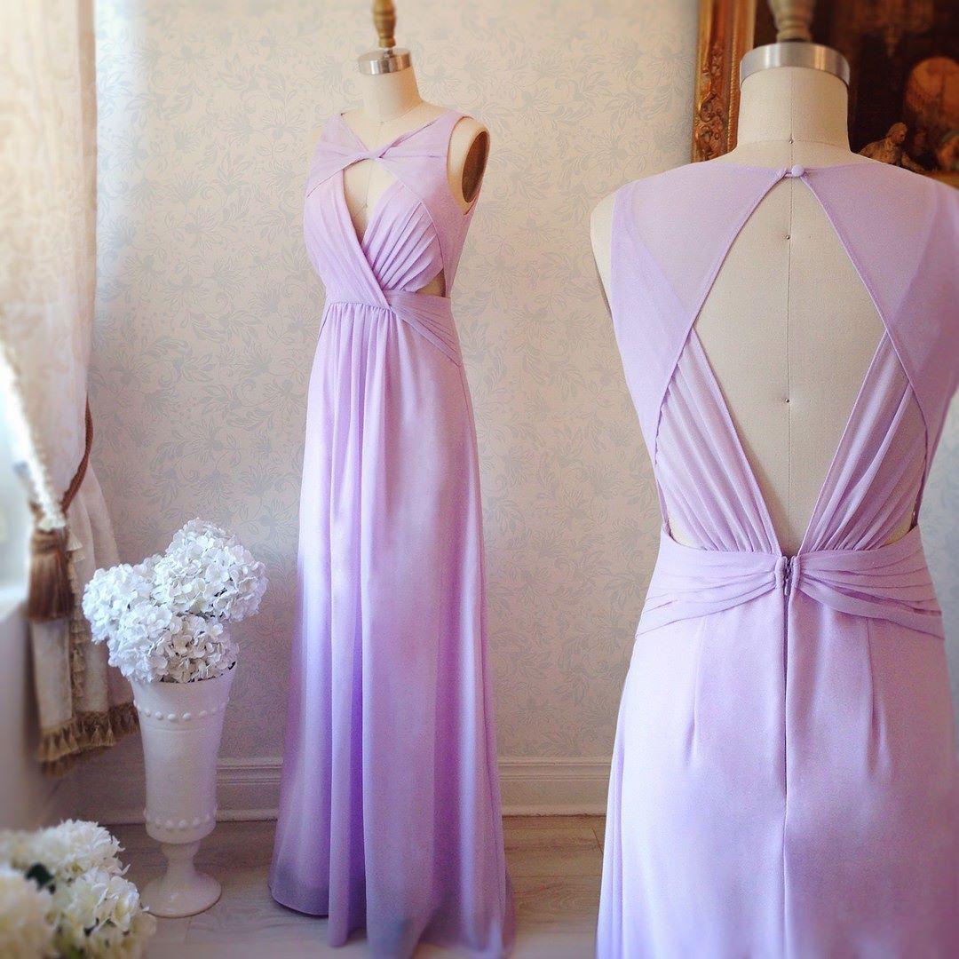 Heiki www.1861.ca #boutique1861 #lavender #cutout #promdress ...