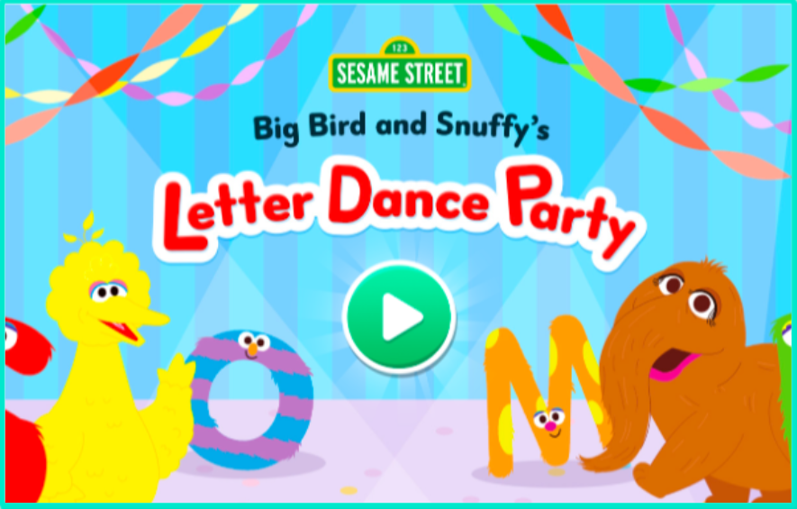 PBS Kids' website has many fun games that would be helpful