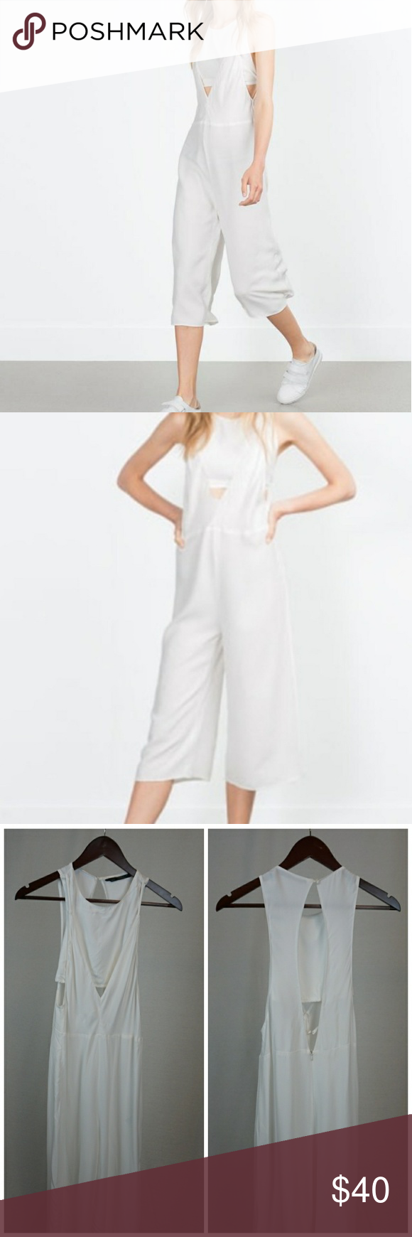 1c48a51640c ZARA Trafaluc Culottes Jumpsuit Size  Small Condition  Pre-owned with no  flaws.