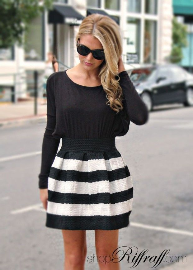 46e45d395 Bell Skirt & Bubble Skirt. Trend Review and Tips How To Wear | L ...