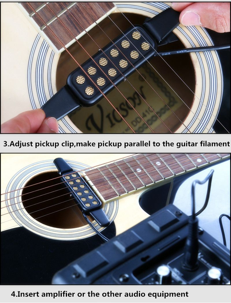 High Quality Acoustic Guitar Pickup Sound Hole Classical Guitar Pickup Connect Amplifier Pickup Guitar M Acoustic Guitar Pickups Guitar Pickups Acoustic Guitar