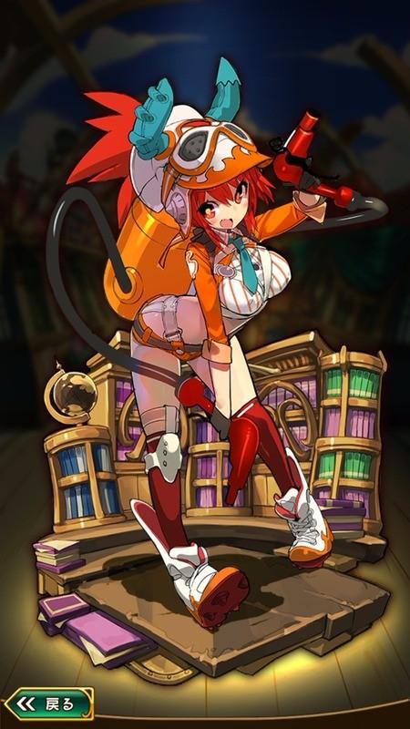 ルビー ファンタジーのキャラクターデザイン ラスピリ アニメのキャラクターデザイン
