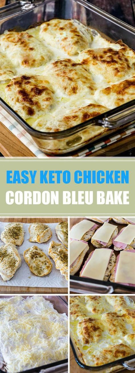 ★★★★★ 45 reviews: Easy Keto Chicken Cordon Bleu Bake | Cheesy Creamy Low-Carb Chicken Cordon Bleu Bake is so delicious that you definitely won't miss the breaded coating that's usually found on Chicken Cordon Bleu. And this recipe is also Keto, low-glycemic, and gluten-free! #keto #glutenfree #lowcarb #ketorecipes #cordonbleu | recipedia.fun #CarbDietRecipes