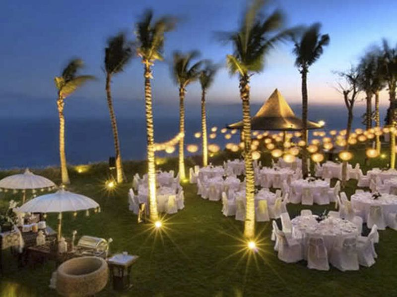 Beach wedding reception food ideas beach wedding pinterest picture outdoor wedding reception to look something like this khayangan estate bali junglespirit Choice Image