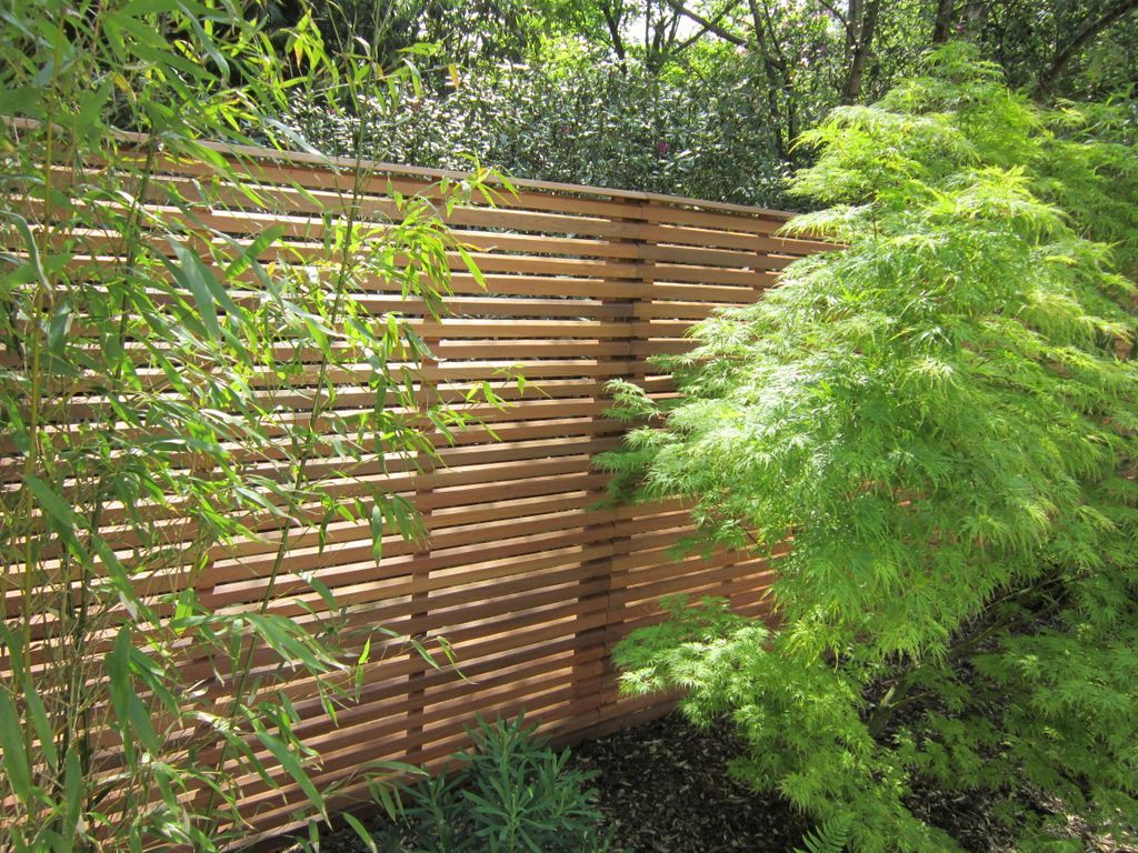 Good Contemporary Slatted Fencing By The Contemporary Fencing Company