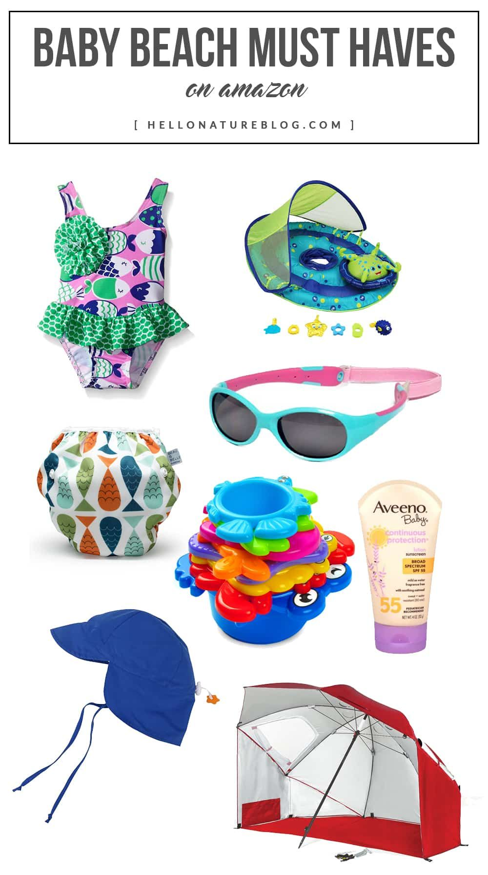 62a9c0c7636 Headed to the beach this Summer with your little one  Check out these top  baby beach must haves to make the trip as enjoyable as possible!
