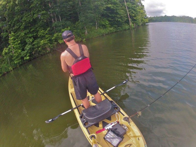 a review of the KC Kayak K12 Fishing Kayak, the Louisiana