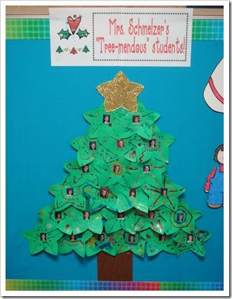 Christmas Tree Display Board.Christmas Tree Display Or For A Class Card You Have