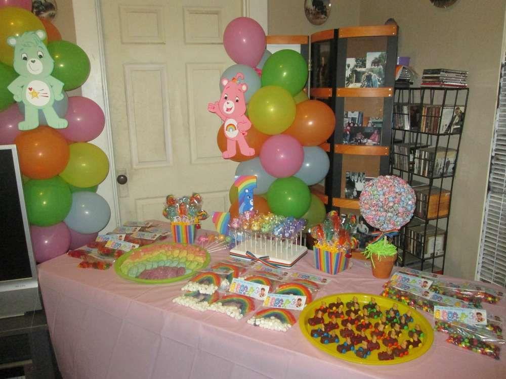Care Bears Party Birthday Party Ideas Care Bear Party Birthday
