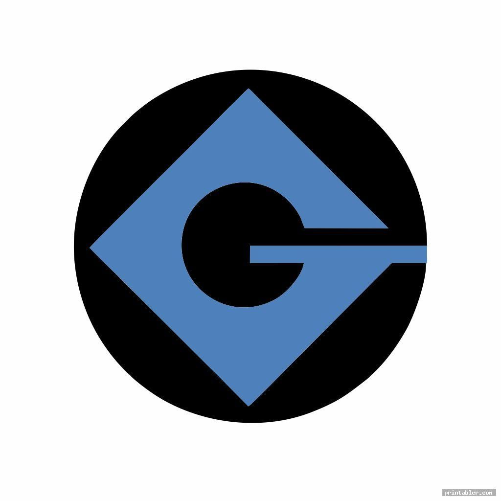 G Minion Logo Printableimage Free Printabler Com In 2020 Minions Logos Minion Costumes