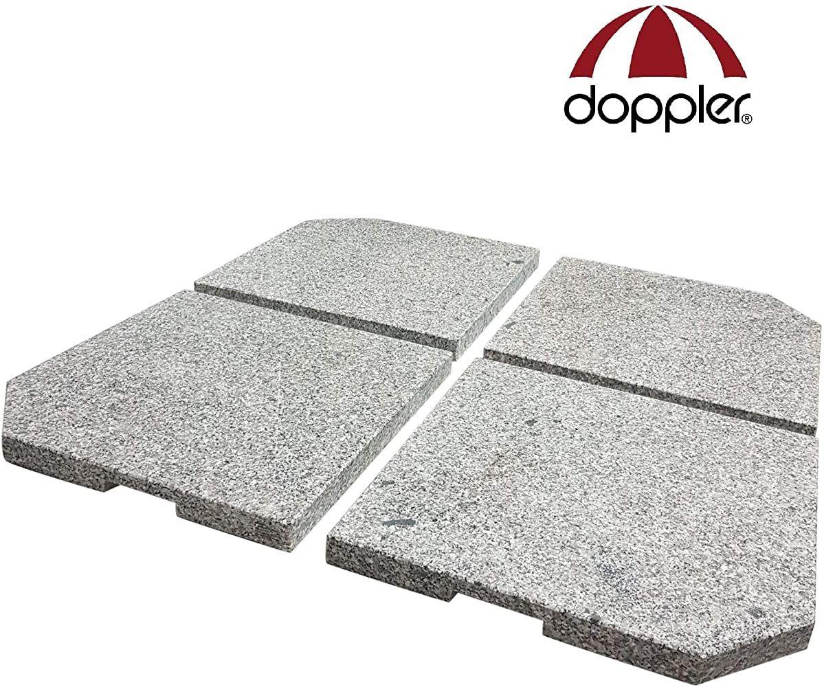 Doppler 4 Granitplatten Fur Schirmstander Perfekt Auch Fur